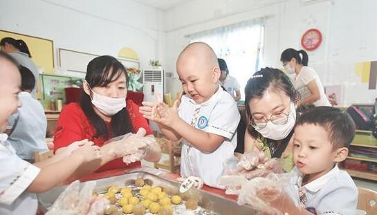 亲子月饼DIY欢乐迎中秋