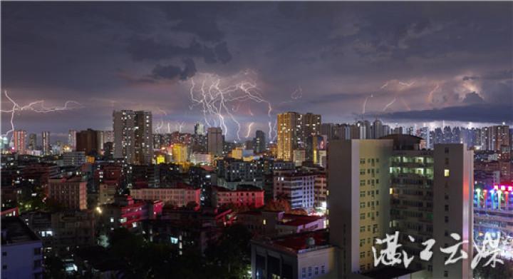 昨晚湛江被照亮了!